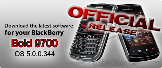 Bell Officially Releases Bold 9700 OS 5.0.0.344