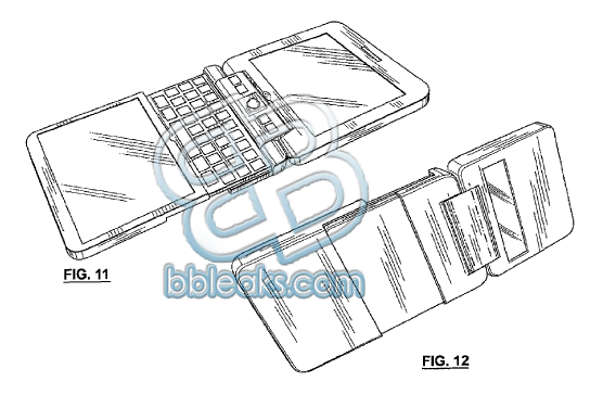 BlackBerry Cube: Dual Screen and Full QWERTY Keyboard Slider