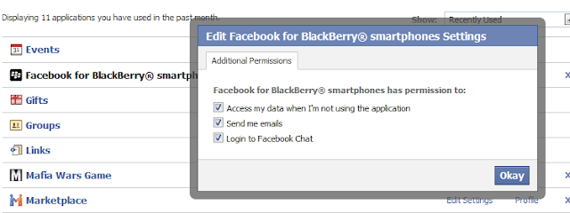 Facebook Chat Coming Soon to the Official BlackBerry App?