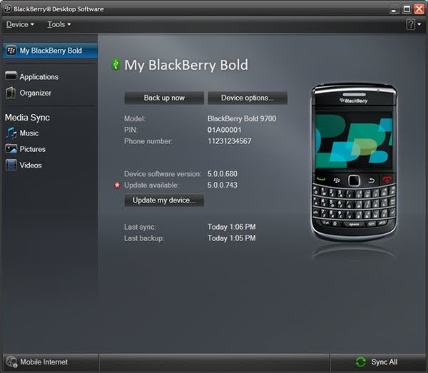 BlackBerry Desktop Manager 6 Officially Released