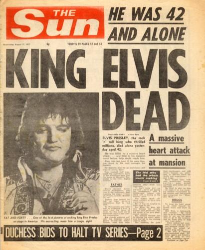 ELVIS PRESLEY DIES AUGUST 16, 1977,wizardofbaum on GOOGLE and YOUTUBE