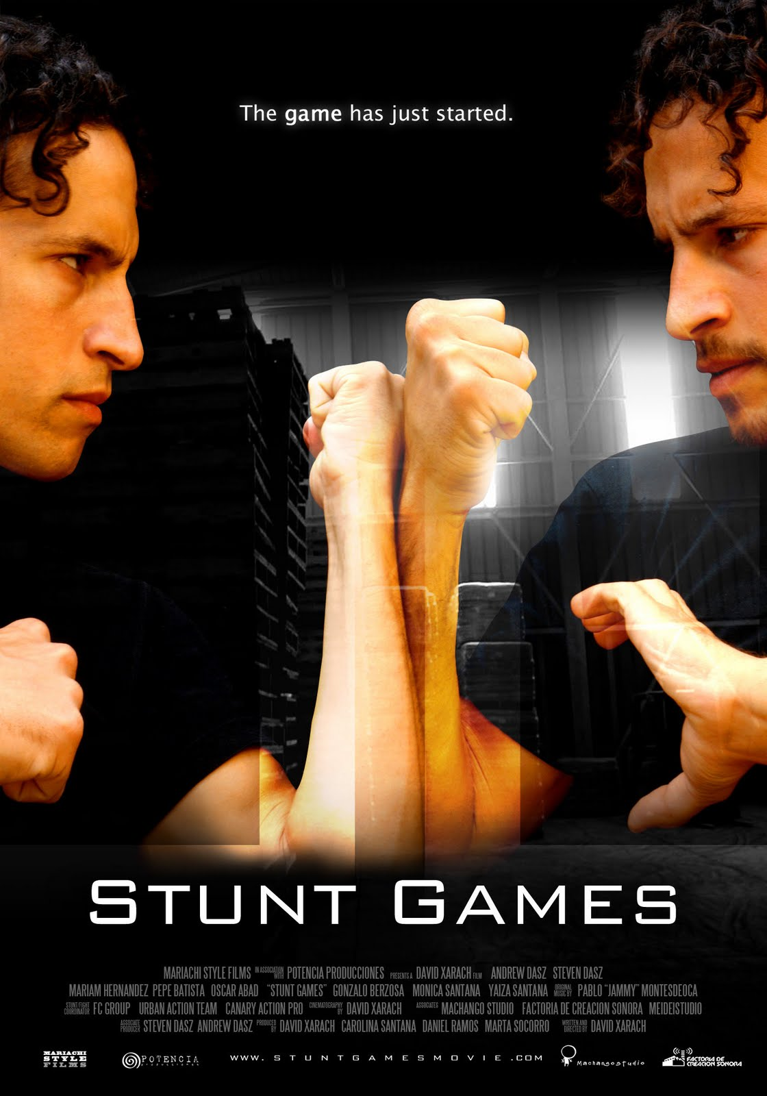 Stunt Games movie