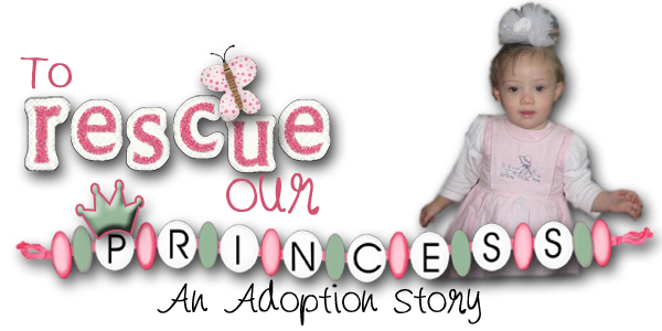 To Rescue Our Princess....an Adoption Story