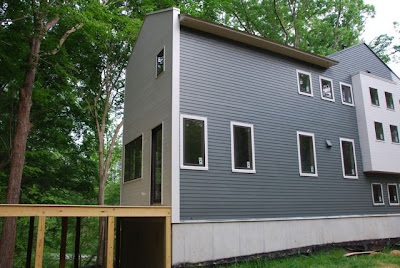 A modern blend exterior colors in place for Grizzle grey sherwin williams exterior