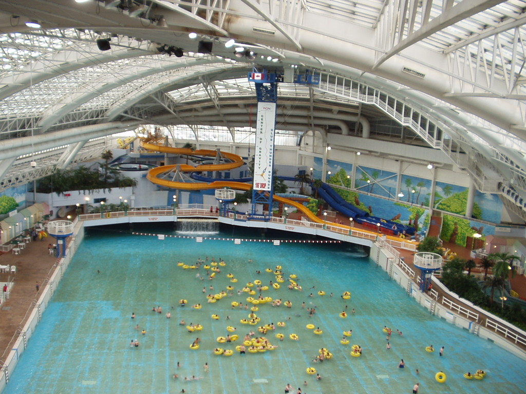 Travel Education Canada West Edmonton Mall Tourism And Entertainment