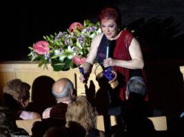 Corita Viamonte y su Recuerdo a Raquel Meller . Sala Mozart . Auditorio de Zaragoza