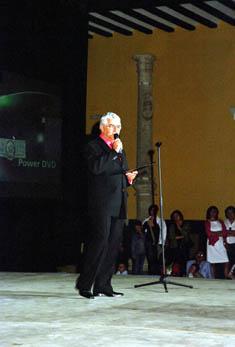 """GALA """"Recordando a Raquel Meller  2007"""" El Poeta Fernando González"""