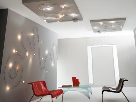 Ideas iluminaci n luces en la pared tatamba decoraci n - Iluminacion original ...