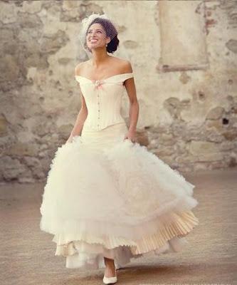 shabby chic: vestidos de novia de la diseñadora joan shum