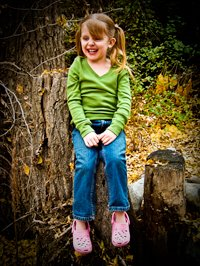 Bella Age 4