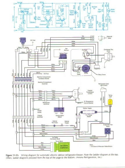Toshiba Air Conditioner Wiring Diagram : Defrost thermostat wiring diagram amana dryer heating