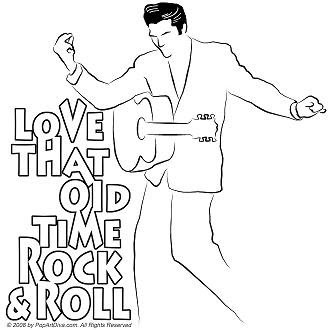 POP ART DIVA LAND MORE ELVIS on Old School Fridays The Year Was