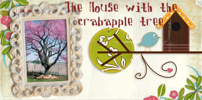 The house with the crabapple tree