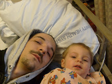me n daddy at the hospital