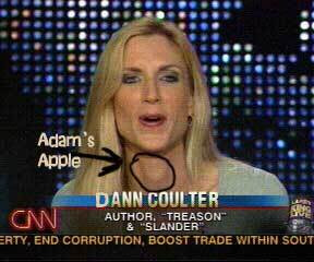 The Prairie Chicken: Ann Coulter's jaw wired shut! We're sooo sad....