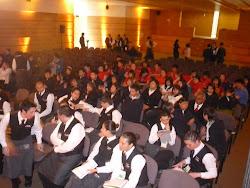 Estudiantes de Hoteleria-Chile.