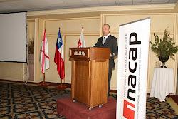 Lecture In INACAP, Valdivia, Chile.