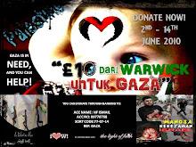 10 Pounds Dari Warwick Untuk Gaza