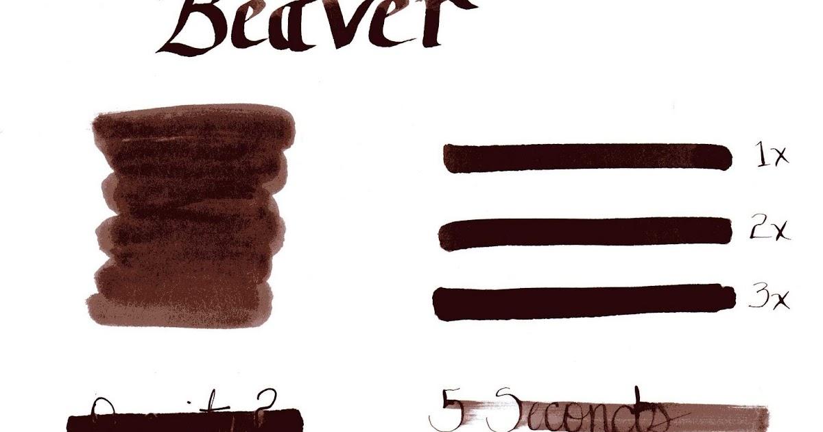 The Harmless Dilettante: Noodler's Beaver Beaver