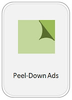 Icon of Peel-Down Banner Ads