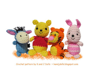Free Eeyore Crochet Pattern Original Patterns
