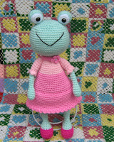 Frog, Amigurumi, Crochet Pattern