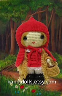 Amigurumi people: Little Red Riding Hood