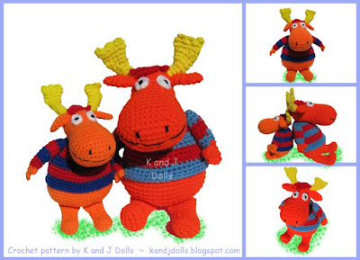 Simply 2 Irresistible: Crochet Hat Patterns  More! — Moose Hat