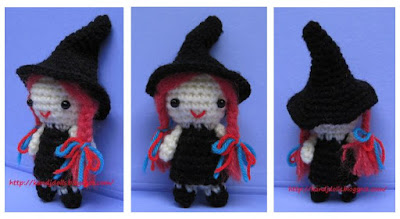 Free Knitting Pattern Witch Doll : Sayjai amigurumi crochet patterns ~ K and J Dolls / K and ...