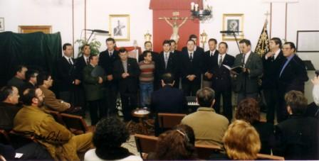 """""""La Schola"""" Hermanos Honorarios de la Cofradía"""
