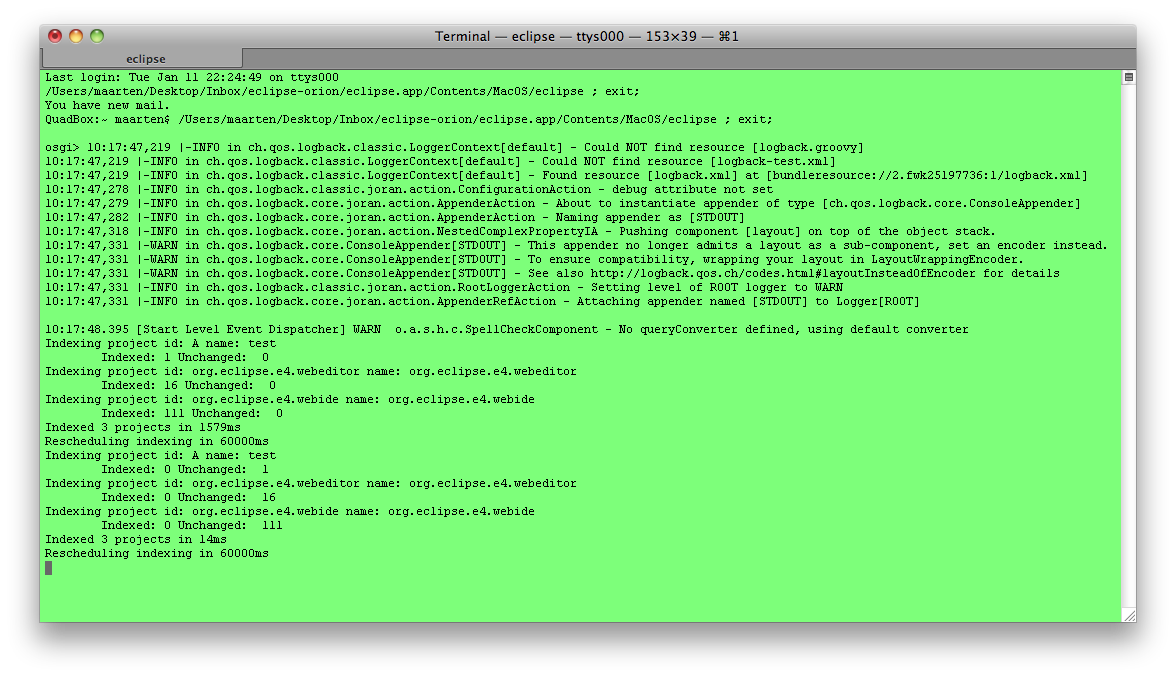 how to open a html file from terminal