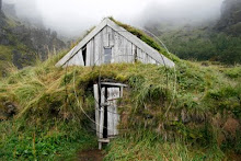 Old weathered house in Iceland
