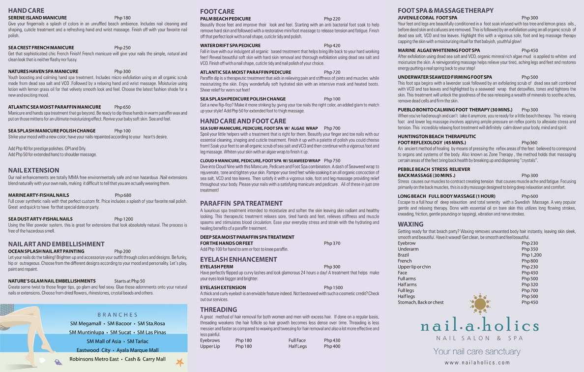 Excelsior Nails And Spa Prices