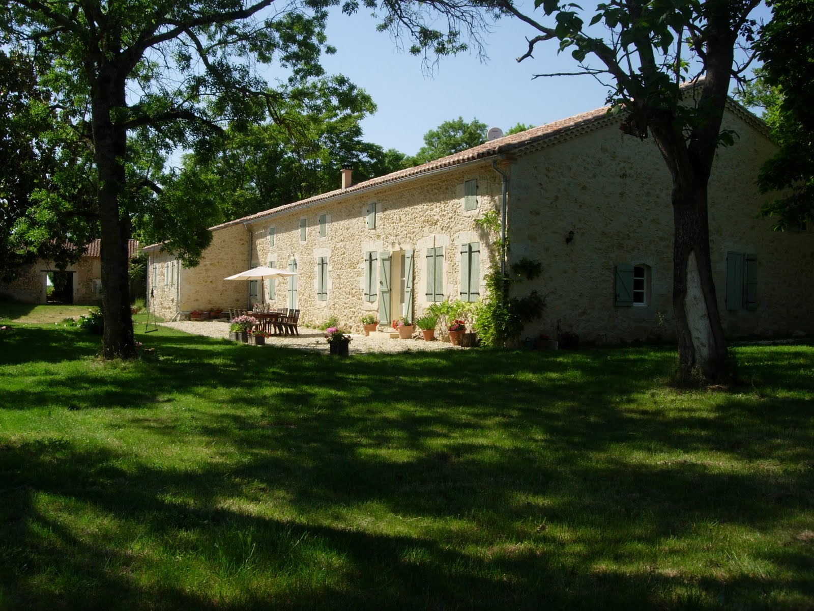 French farmhouse to rent in South West France