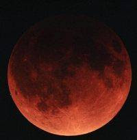 moon eclipse / eclipsa de luna