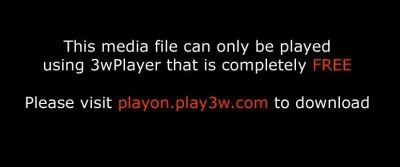 3wPlayer screen