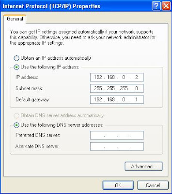 how to connect 2 computers on a lan
