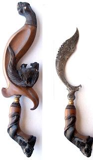 senjata tradisional kujang jawa barat