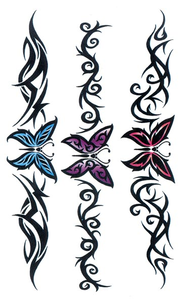 Designs de Tatouage Bracelet Tribal