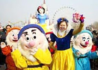 not The 7 Dwarves and Snow White