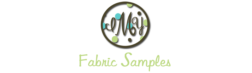 Fabric Samples for Initially Yours Monogramming