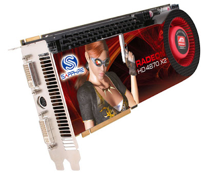 Sapphire Radeon HD 4870 X2 video card