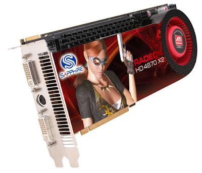 Sapphire Radeon HD 4870 X2 video card
