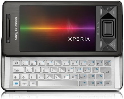 Sony Ericsson Xperia X1 slide open