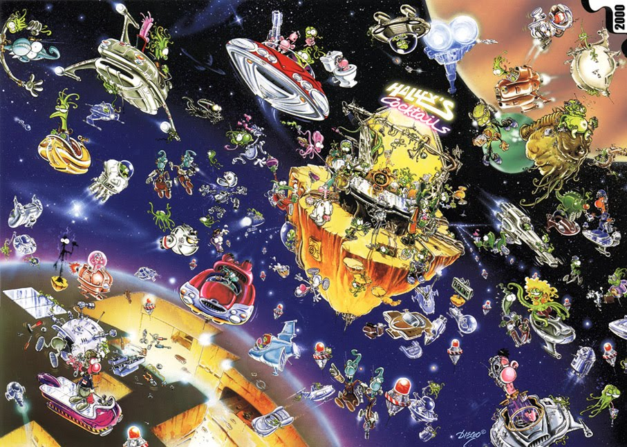 "HEYE, Puzzle 2000 piezas. ""Cosmo Happy Hour"""