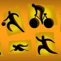 Физические упражнения. Иллюстрация