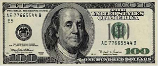 Картинка. Деньги. Сто баксов