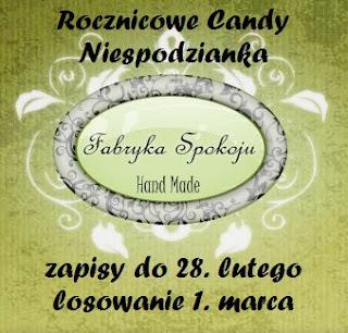 Rocznicowe Candy niespodzianka
