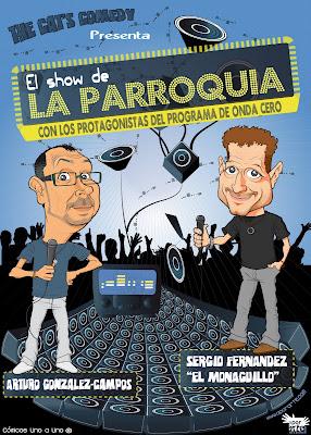 El show de la parroquia - Sergio Fernandez El Monaguillo y Arturo Gonzalez-Campos