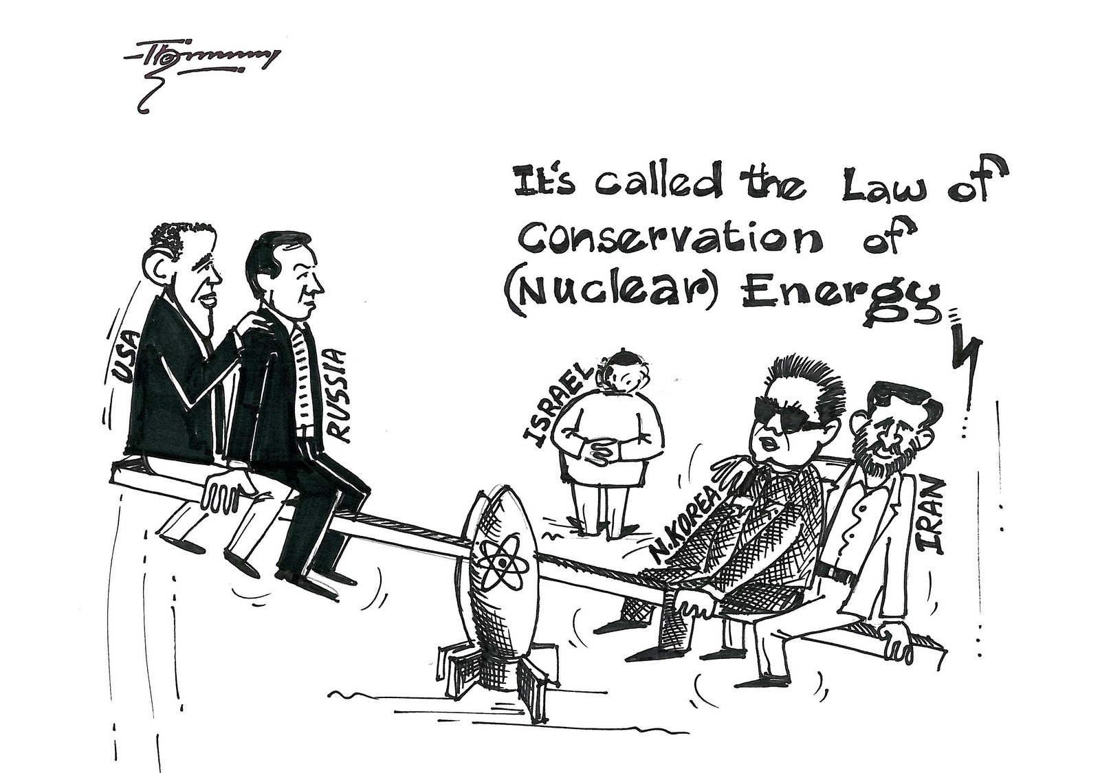 Drawn Opinions ©: The Law of Conservation of (Nuclear) Energy